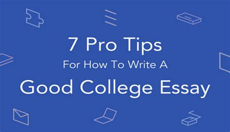 College essay academic weaknesses